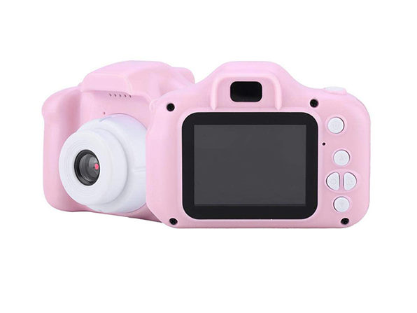 Kids Rechargeable Digital Camera (Pink)