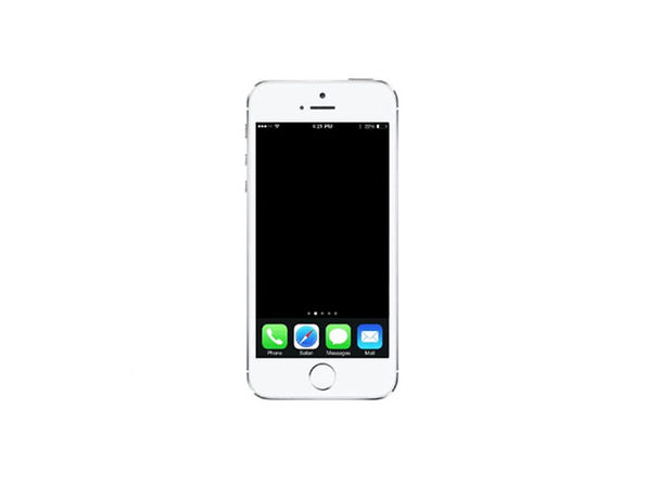 Refurbished iPhone 5s 16 GB White - Good Condition - Product Image