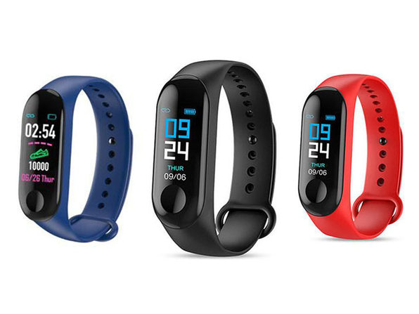 Multi-Function Smart Fitness Tracker (Blue)