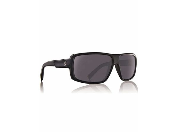 Dragon Alliance Double Dos Sunglasses, Jet/Grey - Black