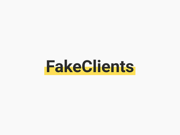 FakeClients Design Brief Generator: Lifetime Subscription