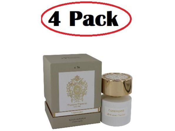 4 Pack of Tiziana Terenzi Cassiopea by Tiziana Terenzi Extrait De Parfum Spray (unisex) 3.38 oz - Product Image