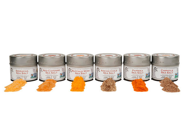 Spicy Sea Salts Collection