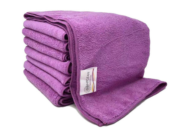Hair Towel 8-pack (Radiant Orchid)