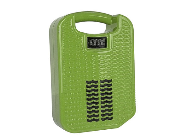 beachsafe® Valuables Storage & Safe with Phone Charging/Cooling (Lime Green)