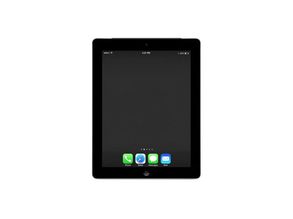 Refurbished iPad 4 32GB Black - Good Condition - Product Image