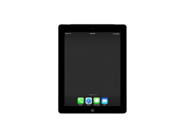 Refurbished iPad 4 32GB Black - Good Condition - Product Image