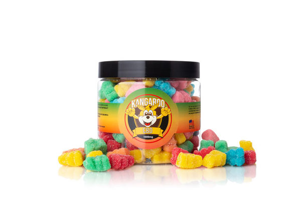 High Potency CBD Sour Bear Gummies (1,000 Mg)