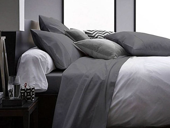 Ultra Soft 1800 Series Bamboo Bed Sheets: 4-Piece Set (Grey)