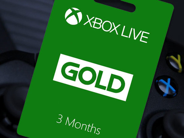 Xbox Live Gold: 3-Month Subscription