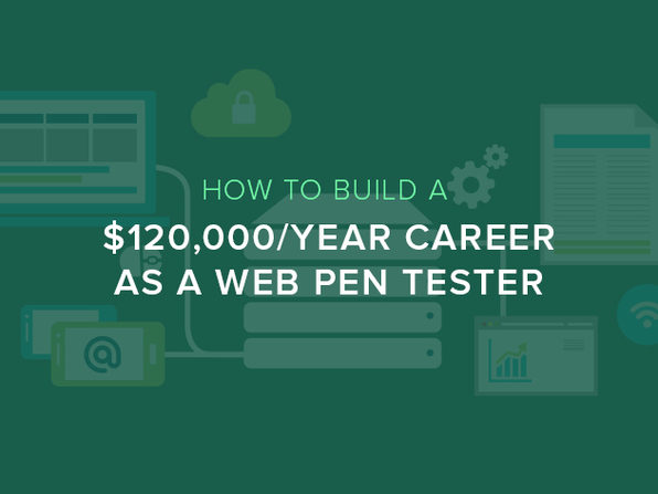 How to Build a $120,000/Year Career as a Web Penetration Tester - Product Image