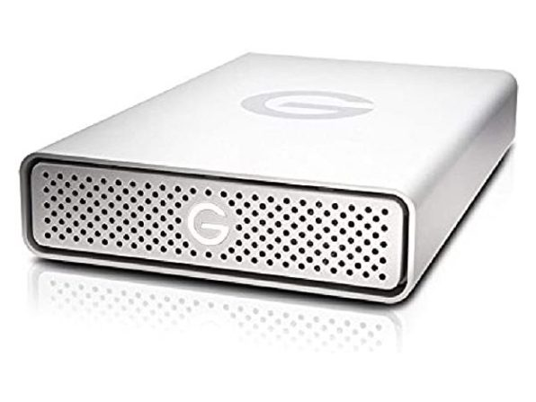 G-Technology 0G03674-1 G-DRIVE USB 3.0 Desktop External Hard Drive, 6TB - Silver (Used, Open Retail Box)