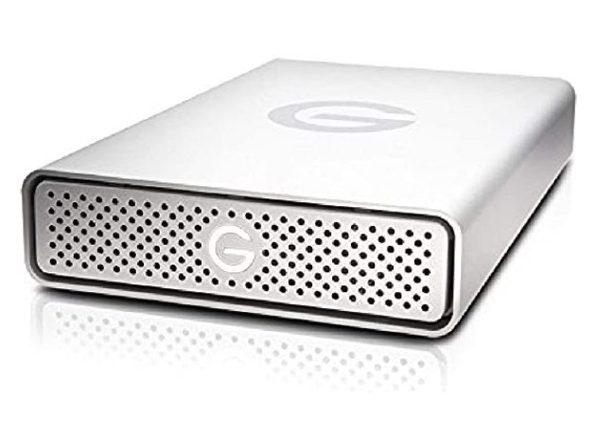G-Technology 0G03674-1 G-DRIVE USB 3.0 Desktop External Hard Drive, 6TB - Silver (Used, Open Retail Box)