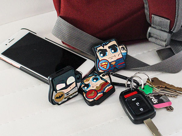 Foundmi Justice League Bluetooth Trackers: 3-Pack