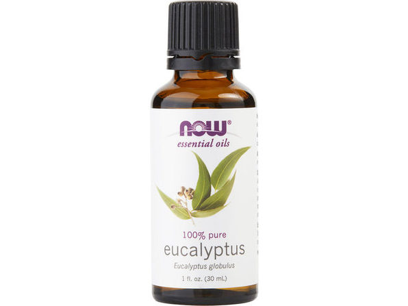 ESSENTIAL OILS NOW by NOW Essential Oils EUCALYPTUS OIL 1 OZ for UNISEX ---(Package Of 5)