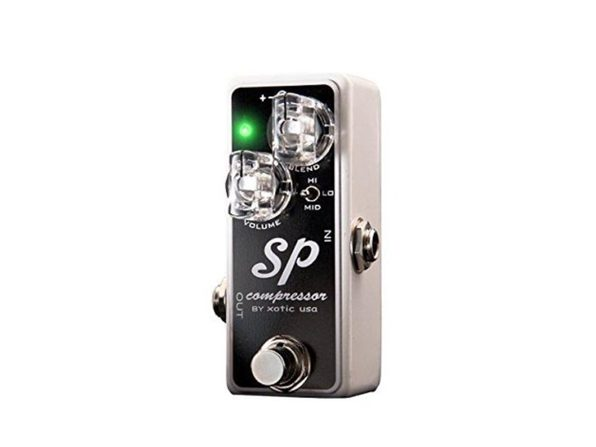 Xotic SP Compressor Pedal with Compact Size Controls for Compression Amount (Used, Damaged Retail Box)