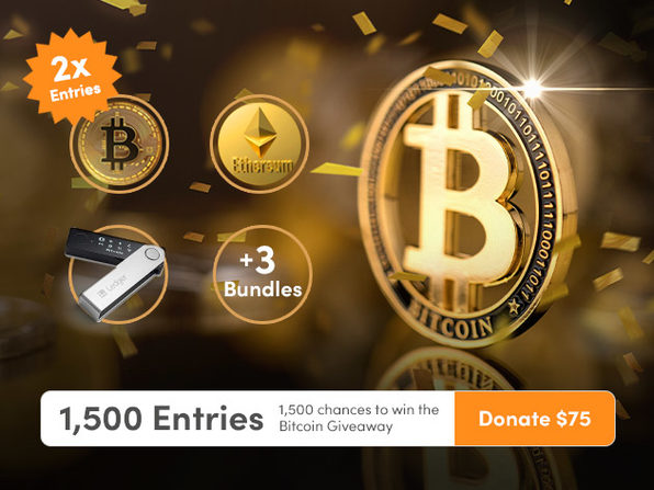 Donate $75 for 1500 Entries - Product Image