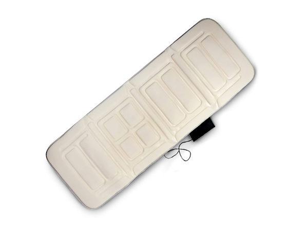 10-Motor Full-Body Massage Mat with Heat (Beige)