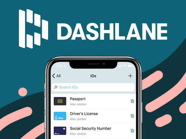 Dashlane Password Manager Premium Plan: 1-Yr Subscription