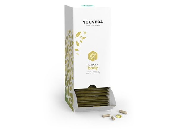 YouVeda - My Healthy Body Kit - Immune and Stress Support Herbal Supplement - Ayurvedic and Vegan Friendly -  30 Days Supply