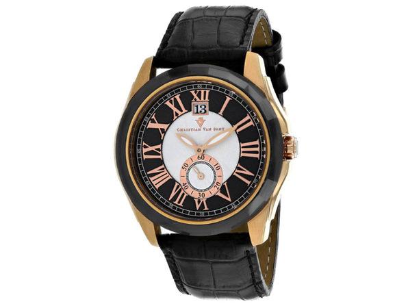 Christian Van Sant Men's Gravity Black Dial Watch - CV3103 - Product Image