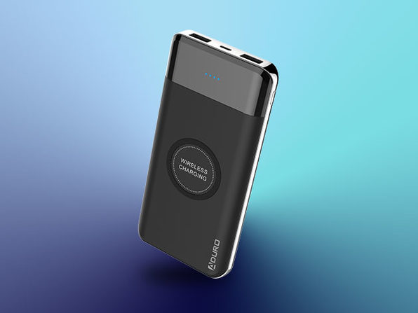 Powerup Wireless Charging 10kmAh Dual USB Battery
