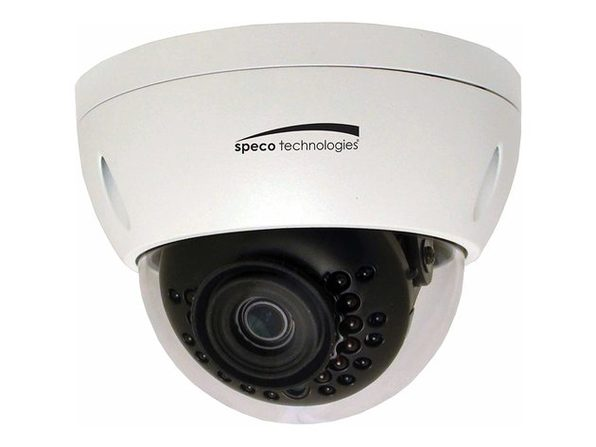 Speco Technologies O3VLD1 Indoor / Outdoor Vandal Resistant Dome IP Camera