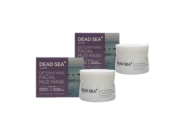 Dead Sea Detoxifying Facial Mud Mask - 2 pack - Product Image