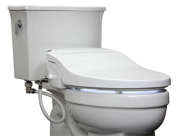 Alpha JX Bidet Seat with Remote (Round)