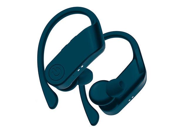 Coby True Wireless Sport Earbuds (Blue)