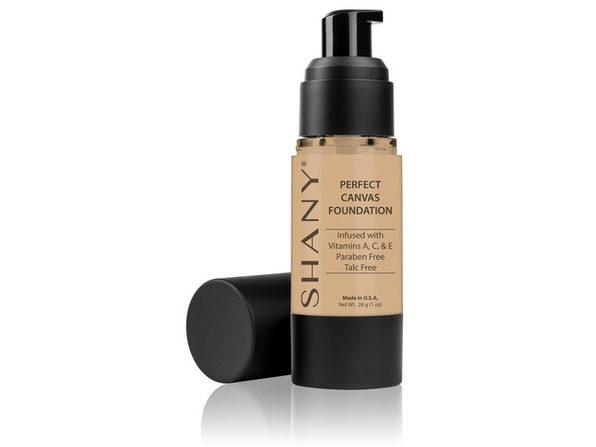 SHANY Perfect Canvas Liquid Foundation - Paraben-Free/ Talc-Free/ Oil-Free - MEDIUM COOL 2