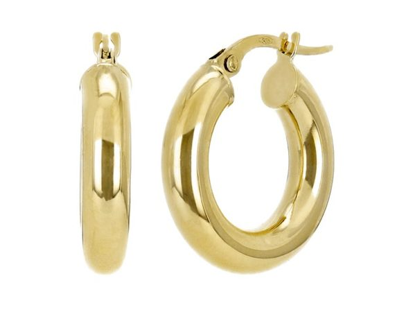Christian Van Sant Italian 14k Yellow Gold Earrings CVE9H75