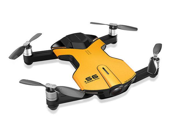 Wingsland S6 4K Pocket Drone (Yellow)