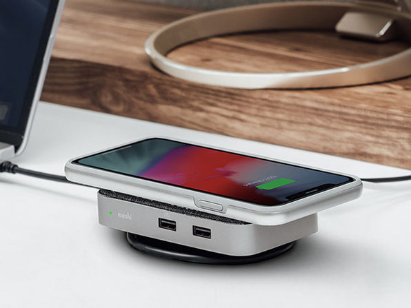 Symbus Q Compact USB-C Dock with Wireless Charging