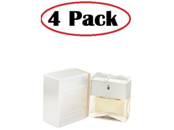 4 Pack of MICHAEL KORS by Michael Kors Eau De Parfum Spray 1 oz - Product Image
