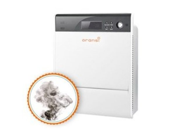 Oransi Air Purifier for Asthma Dust Allergies Max Large Room Covers 600sq.ft (Like New, Damaged Retail Box)