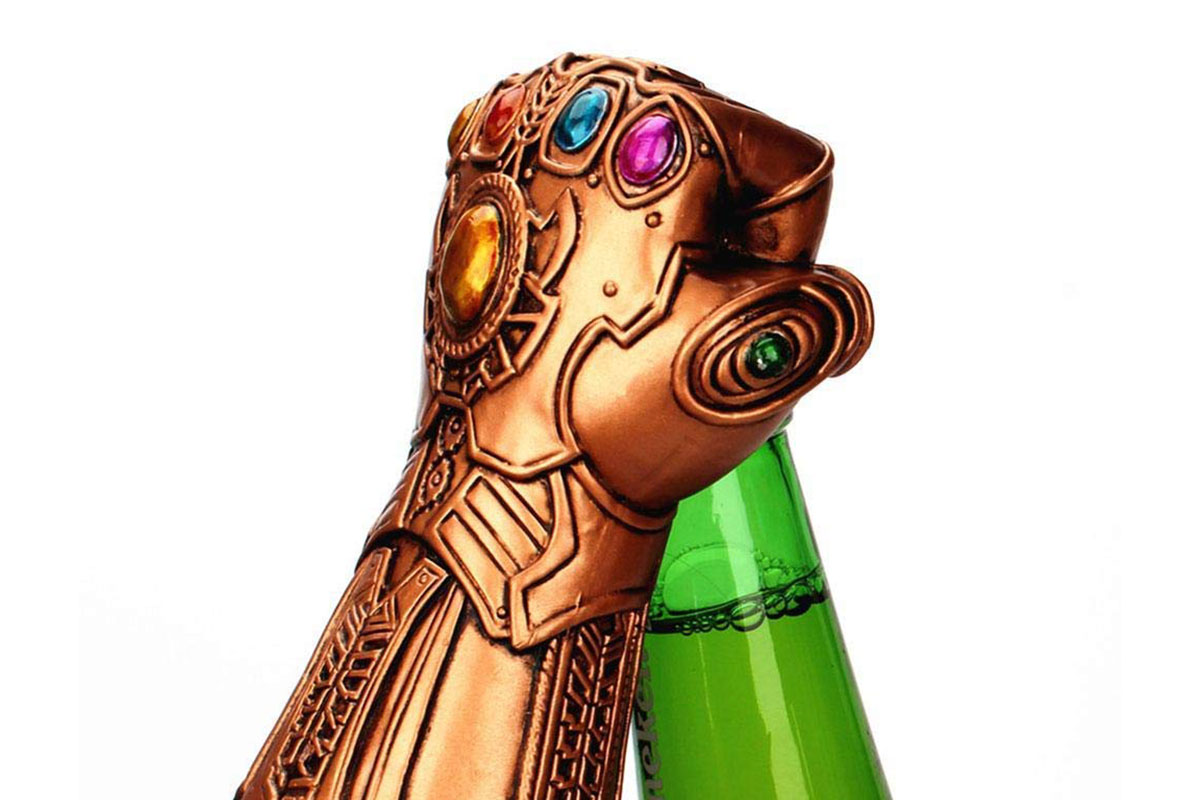 Thanos Bottle Opener, on sale for $10.95 (26% off)