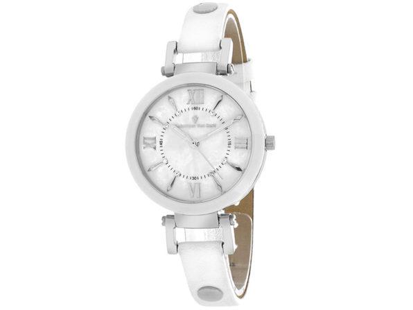 Christian Van Sant Women's Petite White MOP Dial Watch - CV8161 - Product Image