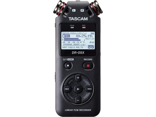Tascam DR-07X Stereo Handheld Digital Audio Recorder & USB Audio Interface-Black (Like New, Open Retail Box)