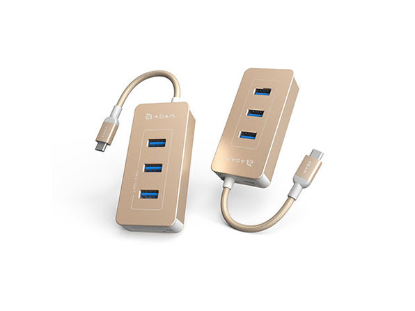 CASA Hub PDC601 USB-C Power Adapter (Gold)