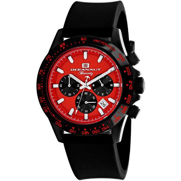 Oceanaut Men's Biarritz Red Dial Watch - OC6115R - Product Image