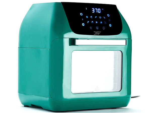 PowerXL 10-in-1 Pro XLT 6QT Air Fryer Oven with Rotisserie - Pine Green(Factory Remanufactured)