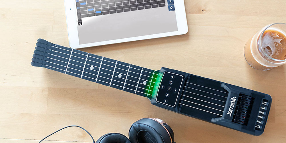 Get the Jamstik® Guitar Trainer for $159.20 with promo code GREEN20