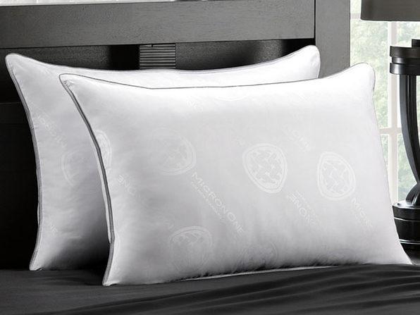 MicronOne Allergen-Free Gel Fiber All-Sleeper Pillows: 2-Pack (King)