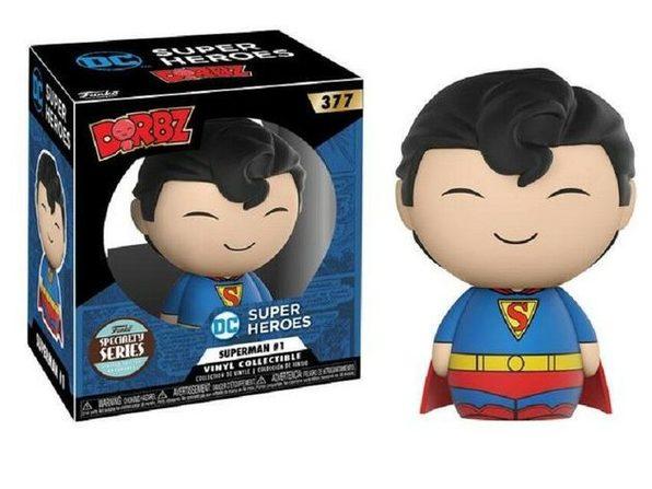 Funko Pop! Dorbz DC Super Heroes Superman #1 Vinyl Collectible Specialty Series