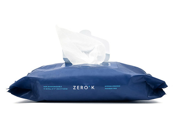 Zero K Cooling & Cleansing Wipes