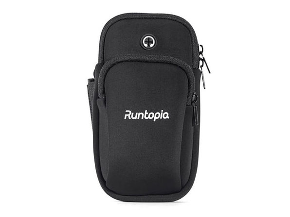 Runtopia Multi-Pocket Fitness Armband