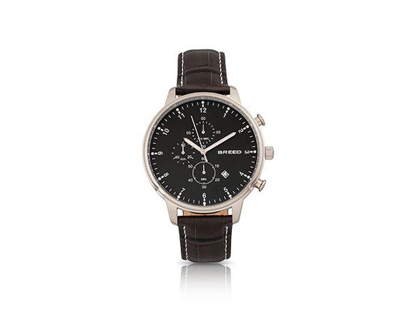 Breed Holden Quartz Watch (Black/Black)