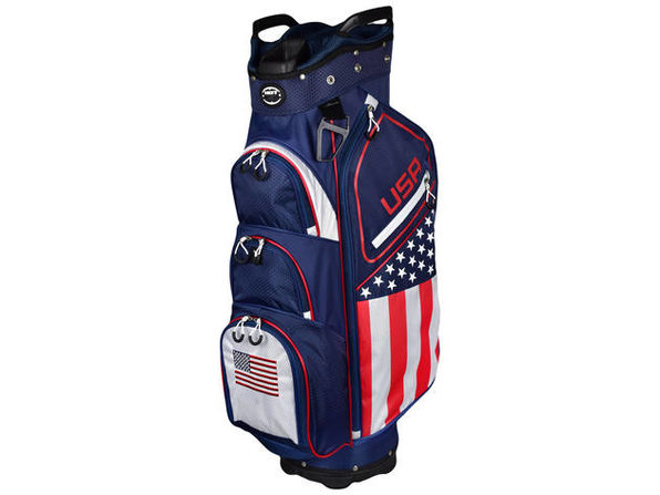 Hot-Z Golf USA Flag Cart Bag