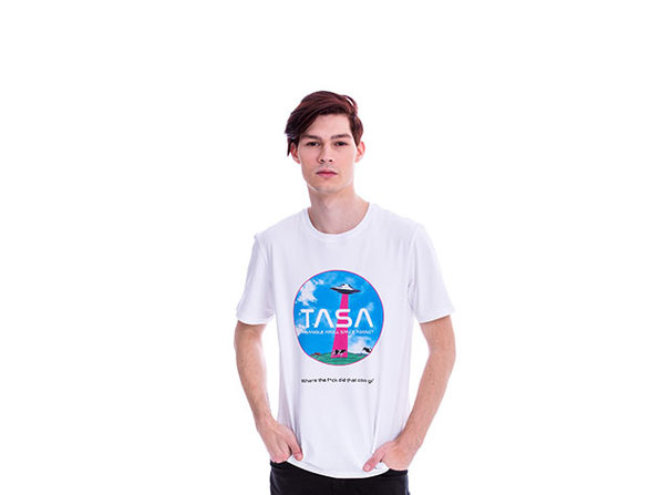 Animated TASA White T-Shirt
